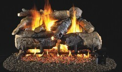 REAL FYRE CHAO VENTED CHARRED SERIES AMERICAN OAK GAS LOGS