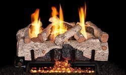 REAL FYRE CHAB VENT-FREE G10 SERIES CHARRED ALPINE GAS LOGS