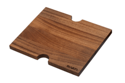 RUVATI RVA1215 13 X 11 INCH SOLID WOOD CUTTING BOARD SINK COVER FOR RVH8215 AND RVQ5215 WORKSTATION SINKS