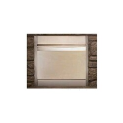 SUPERIOR 42-EODC OUTDOOR WEATHER COVER FOR 42 INCH VENT FREE GAS FIREPLACE - STAINLESS STEEL