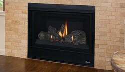 SUPERIOR DRT2033RE DRT2033 31 INCH DIRECT-VENT GAS FIREPLACE WITH REAR VENT