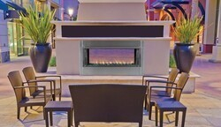 SUPERIOR VRE4543E VRE4543 44 1/8 INCH VENT-FREE OUTDOOR FIREPLACE