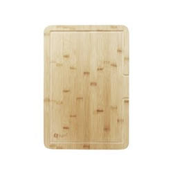 STYLISH A-904 18 X 13 INCH OVER THE SINK BAMBOO CUTTING BOARD