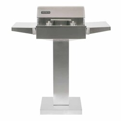 COYOTE C1ELCT21 35 1/2 INCH STAINLESS STEEL PEDESTAL STAND FOR ELECTRIC GRILL