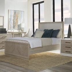 PANAMA JACK 150-210C BOCA 63 1/2 INCH GRANDE QUEEN PANEL UPHOLSTERED BED