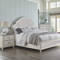PANAMA JACK 160-250C SONOMA 64 3/4 INCH UPHOLSTERED QUEEN BED