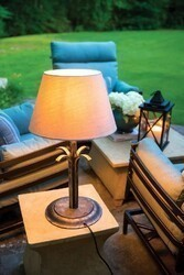 INSPIRED VISIONS 6073601-0131000 MCDANIEL 16 INCH TABLE LAMP