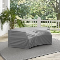 CROSLEY CO7505 82 5/8 INCH OUTDOOR CATALINA ROUND SECTIONAL FURNITURE COVER