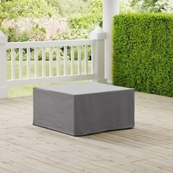 CROSLEY CO7507 33 INCH OUTDOOR SQUARE TABLE AND OTTOMAN FURNITURE COVER
