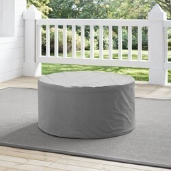 CROSLEY CO7508 32 1/4 INCH OUTDOOR CATALINA ROUND TABLE FURNITURE COVER