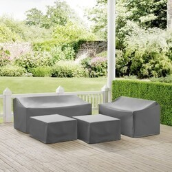 CROSLEY MO75012 4-PIECE SECTIONAL COVER SET