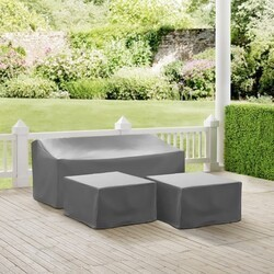 CROSLEY MO75013 3-PIECE SECTIONAL COVER SET