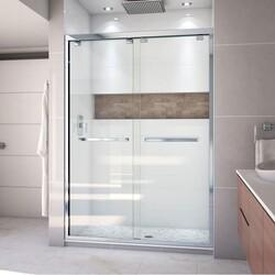 DREAMLINE SHDR-1654760 ENCORE 50-54 W X 76 H FRAMELESS BYPASS SLIDING SHOWER DOOR WITH CLEAR GLASS