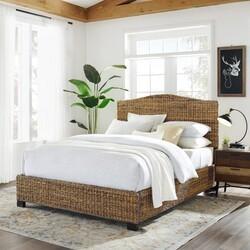 CROSLEY KF727001BN SERENA 66 3/4 INCH COASTAL DESIGN QUEEN BED - BANANA LEAF