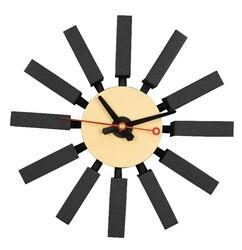 LEISUREMOD CCL11 VDARA 11 INCH MODERN DESIGN BLOCK SILENT NON-TICKING WALL CLOCK