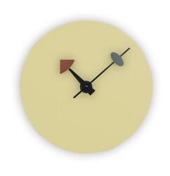 LEISUREMOD MCLR11 MANCHESTER 12 INCH MODERN CLASSY DESIGN ROUND SILENT NON-TICKING WALL CLOCK