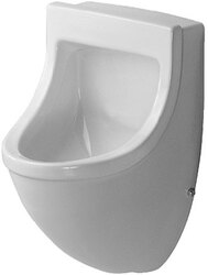 DURAVIT 0821350092 STARCK 3 13 INCH URINAL (WITHOUT FLY)