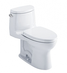 TOTO MS604114CEFG ULTRAMAX II ONE-PIECE ELONGATED BOWL TOILET WITH SOFTCLOSE SEAT, 1.28 GPF