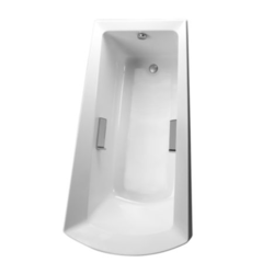 TOTO ABY964N 72-3/8 X 39-1/2 X 25-1/8 INCH SOIR?E SOAKER BATHTUB WITH LEFT DRAIN