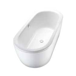 TOTO FBF794S#01 66-15/16 X 29-1/2 X 21-1/8 INCH CAST IRON NEXUS BATHTUB