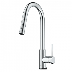 KRAUS KTF-3104 OLETTO CONTEMPORARY SINGLE-HANDLE TOUCH KITCHEN SINK FAUCET WITH PULL DOWN SPRAYER