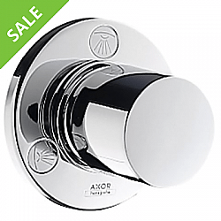 SALE! HANSGROHE 38885001 AXOR UNO TRIM, TRIO DIVERTER IN POLISHED CHROME
