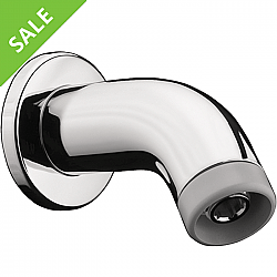 SALE! HANSGROHE 27438001 SMALL CAST 4 INCH SHOWERARM IN CHROME