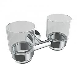 ICO V6356 SUMMIT 7 1/4 INCH WALL MOUNT DOUBLE GLASS TUMBLER
