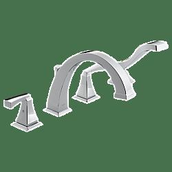 DELTA T4751 DRYDEN ROMAN TUB WITH HAND SHOWER TRIM