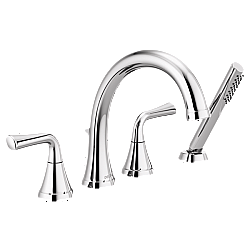 DELTA T4733 KAYRA 10 INCH ROMAN TUB TRIM WITH HAND SHOWER