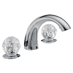 DELTA 2705-SS CLASSIC 5 1/4 INCH DECK MOUNT ROMAN TUB FILLER - STAINLESS STEEL