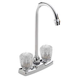 DELTA 2170LF CLASSIC TWO HANDLE KNOW BAR/PREP FAUCET - CHROME FINISH