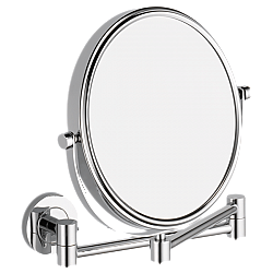 DELTA IAO20175 LILAH 10 INCH WALL MOUNT DOUBLE FACE MIRROR - CHROME
