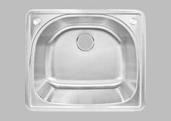 LESS CARE LT91 25 INCH KITCHEN AND BAR TOP MOUNT SINK
