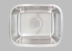 "LESS CARE L106 23"" UNDERMOUNT SINGLE BOWL KITCHEN SINK"