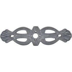 TOP KNOBS M182 PTL TUSCANY NEWTON BACKPLATE 3-3/16 INCH PEWTER LIGHT
