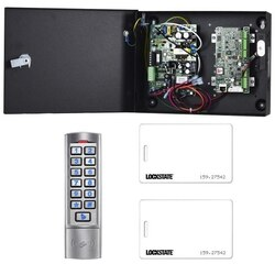 LOCKSTATE LS-ACS1KIT ACCESS CONTROL KIT WITH READER 1 DOOR
