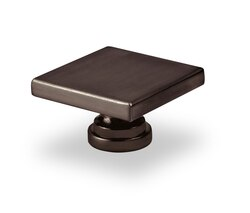 TOPEX P2050RBS LARGE SQUARE KNOB BRUSHED OIL RUBBED BRONZE