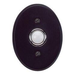 ATLAS DB646-BL TRADITIONALIST COLLECTION 3 INCH BLACK DOOR BELL