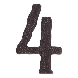 ATLAS HN4L-O JAGGED HAMMER COLLECTION 5-1/2 INCH AGED BRONZE LARGE #4