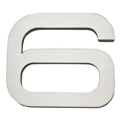 ATLAS PGN6-SS PARAGON COLLECTION 4 INCH STAINLESS STEEL #6