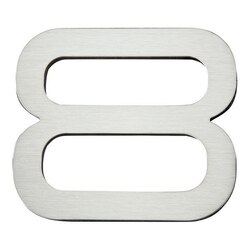 ATLAS PGN8-SS PARAGON COLLECTION 4 INCH STAINLESS STEEL #8