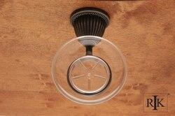 RK INTERNATIONAL BEDN 6 BEADED BELL BASE SOAP DISH