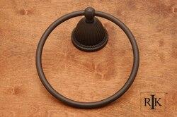 RK INTERNATIONAL BERB 5 BEADED BELL BASE TOWEL RING