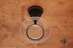 RK INTERNATIONAL BERB 6 BEADED BELL BASE SOAP DISH