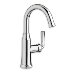 AMERICAN STANDARD 4285.410.F15.002 PORTSMOUTH 1 HANDLE HIGH ARC PULL DOWN BAR SINK FAUCET 1.5 GPM/5.7 L/MIN. MAXIMUM FLOW RATE