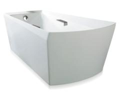 TOTO ABF964N#01 SOIREE 72-3/8 X 39-1/2 X 25-3/8 INCH FREE STANDING BATHTUB