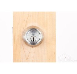 WESLOCK 00672 TRADITIONALE GRADE 2 ROUND DOUBLE CYLINDER DEADBOLT