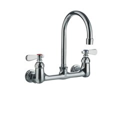 WHITEHAUS WHFS9814-P5-C HEAVY DUTY 8-3/4 INCH WALL MOUNT UTILITY FAUCET