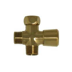 WHITEHAUS WH161A2-B SHOWERHAUS SOLID BRASS SHOWER DIVERTER IN POLISHED BRASS